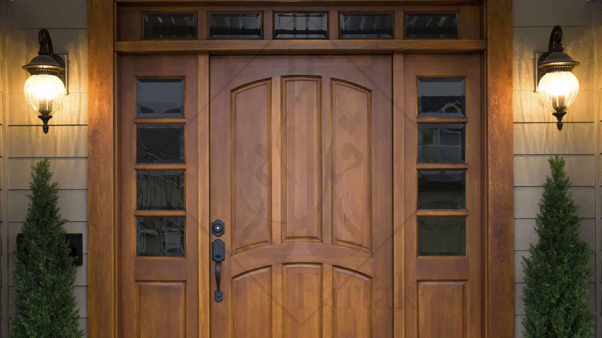پروژه ها درب ضد سرقت و درب داخلی