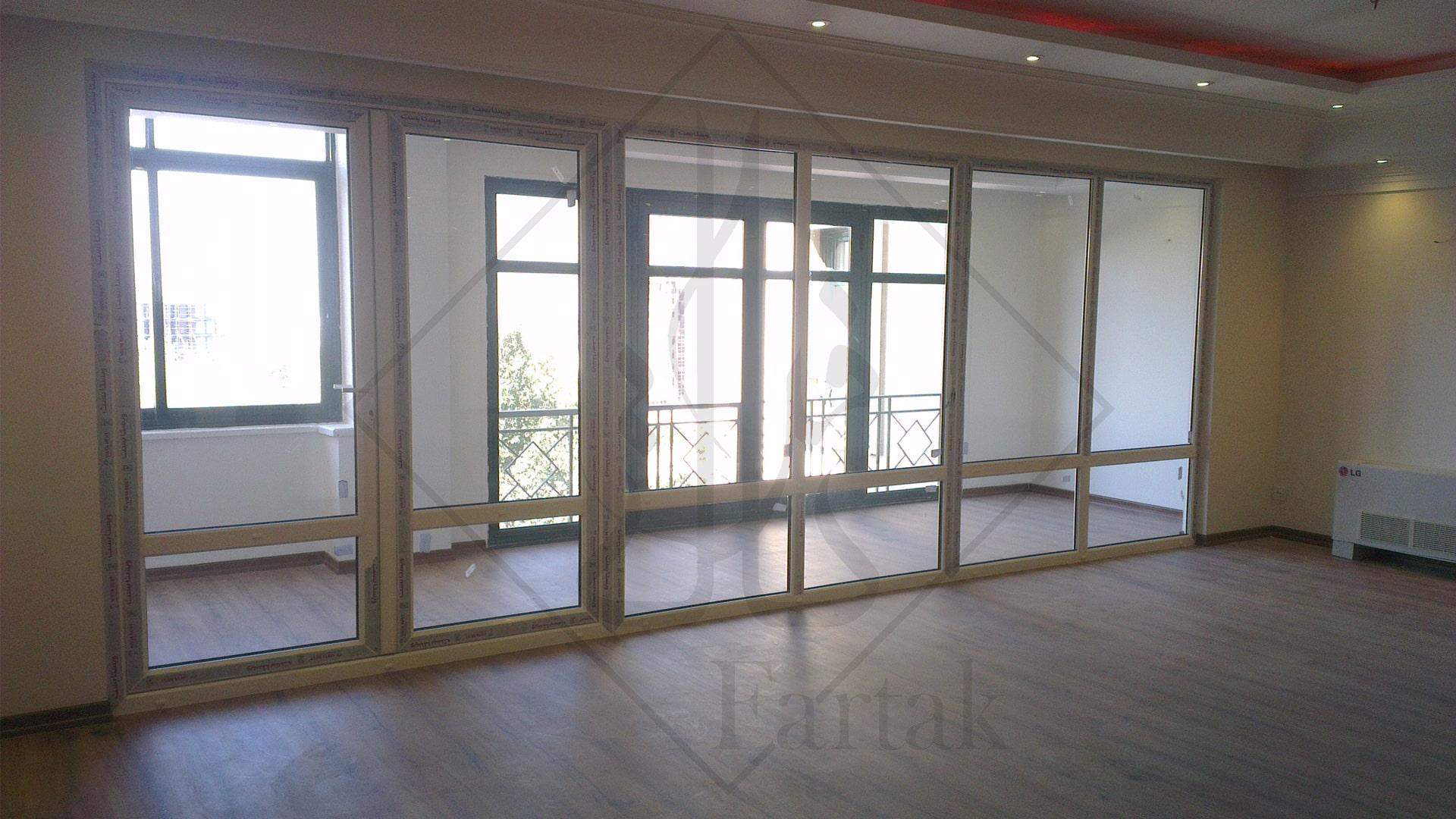 پروژه ها درب و پنجره دوجداره